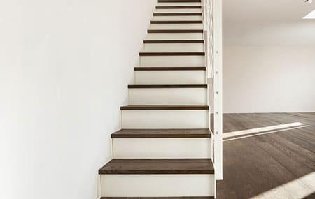 nieuwe trap bekleden